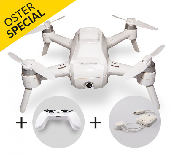 REFURBISHED - Breeze 4K Set with Controller and car charger (EU Version)