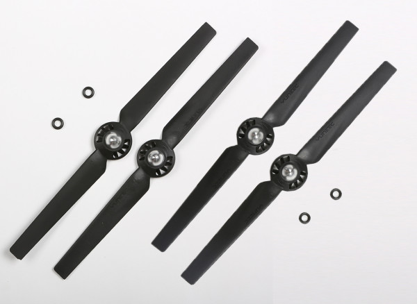 "Q500 Propeller Set ""A"" & ""B"", black (4 pcs.)"