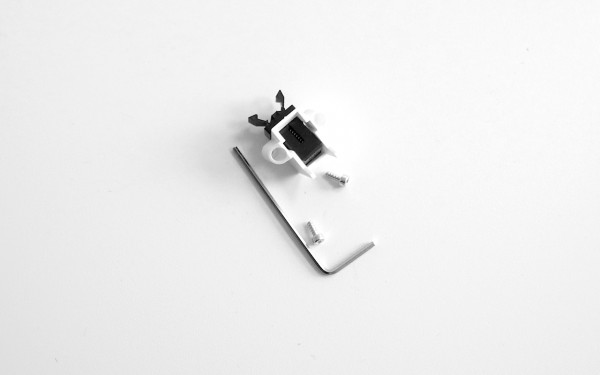 Q500 Battery Door Latch
